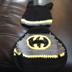 Other - Brand new Batman hat and cape